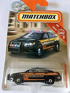 Matchbox 15 Subaru WRX STI 60//125 1:64 2016 Mattel Police Polizei