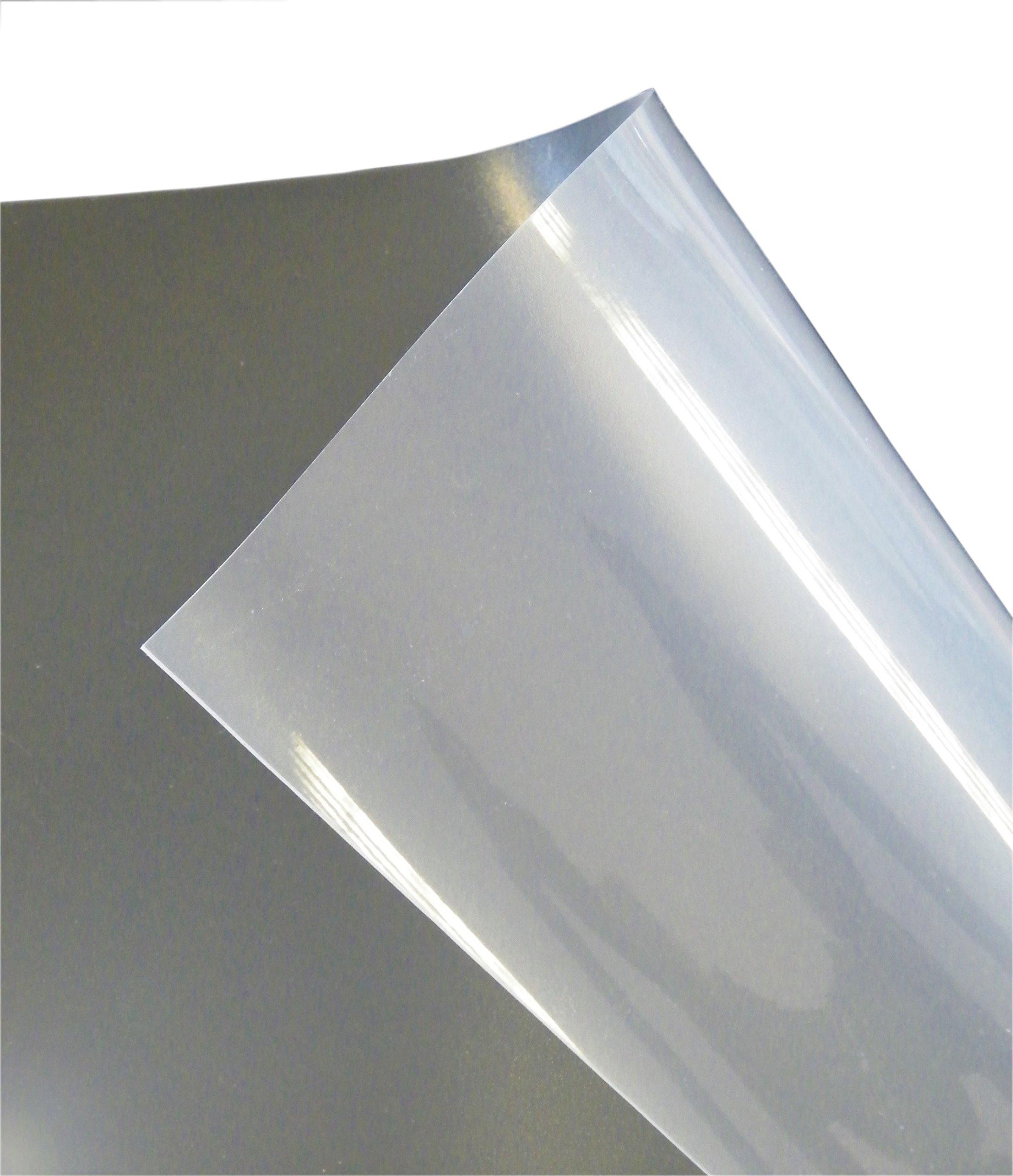 Floortex Long & Strong Hallway Runner, for Hard Floors, Clear PVC Floor Protector Roll Mat, Size 48'' x 18ft (FRR124818EV)