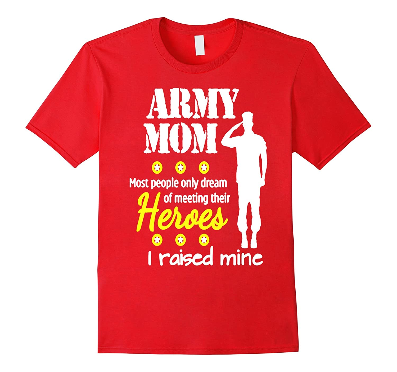 Army Mom T Shirt-Vaci
