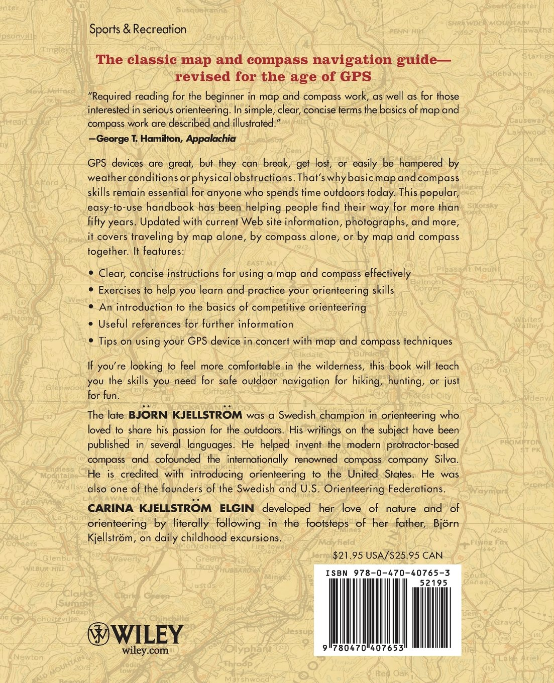 Be Expert With Map And Compass Bjorn Kjellstrom Carina - Us army guide to map reading and navigation