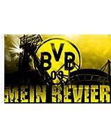 BVB Zimmerfahne Mein Revier