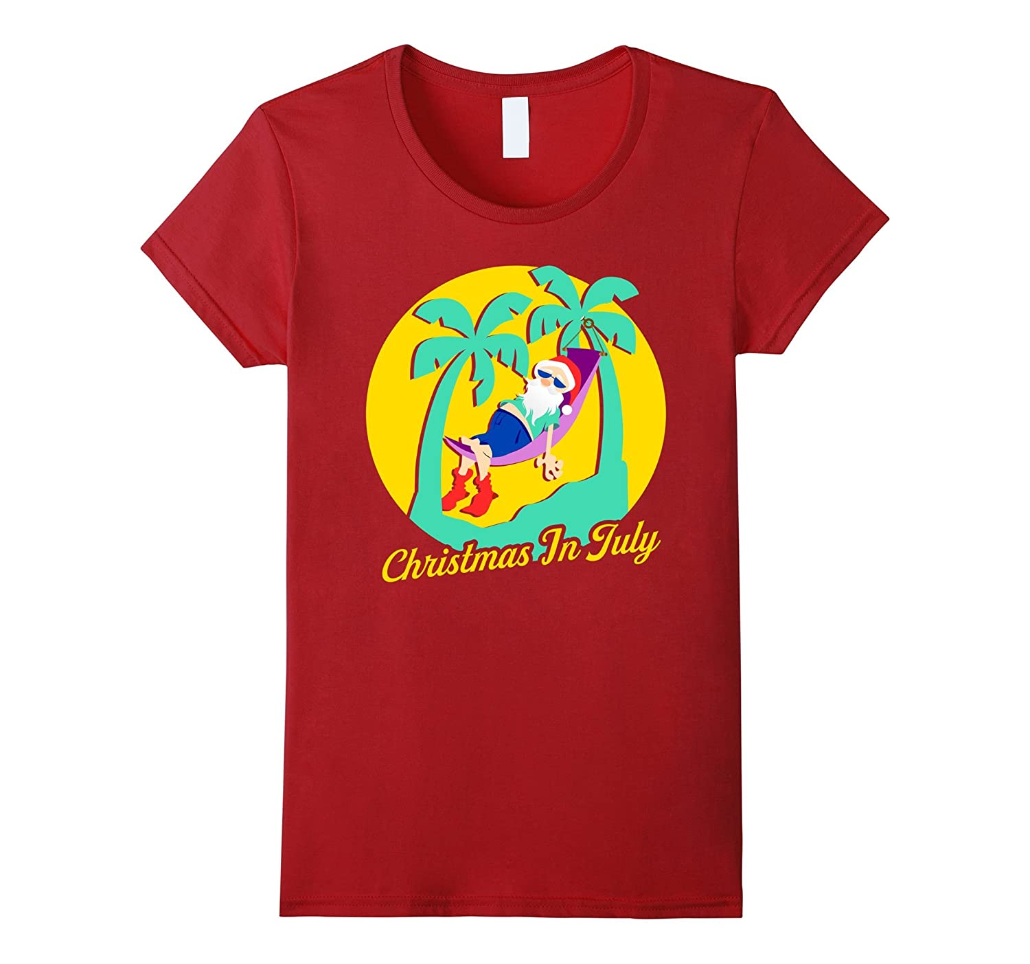 Christmas In July Shirts Decoration Party Supplies