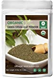 Organic Green Stevia Leaf Powder (1/2 lb) by Naturevibe Botanicals, Gluten-Free, Raw & Non-GMO (8 ounces)