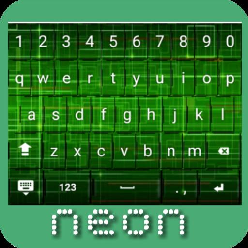 Neon Keyboard (Java Wallpaper)