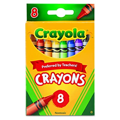 Crayola 8 Nontoxic Crayons, 12 Pack: Health & Personal Care