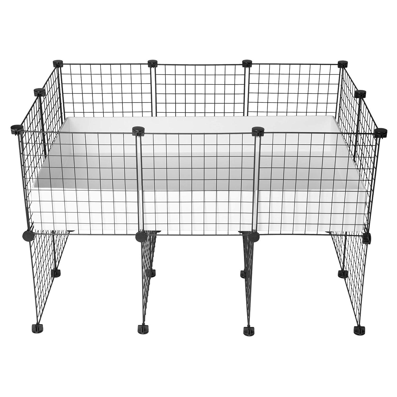 CagesCubes - Jaula CyC Cavy UP (Base 2X3 - Panel Negro) + Base de ...