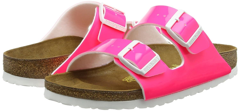 a5d830493f41 Birkenstock ARIZONA Ladies Buckle Sandals Neon Pink 37  Amazon.ca  Shoes    Handbags