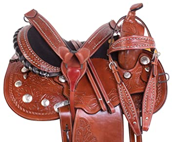 Amazon com : AceRugs Western Pleasure Trail Horse Saddle