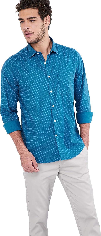 Max Men's Printed Regular Fit Casual Shirt