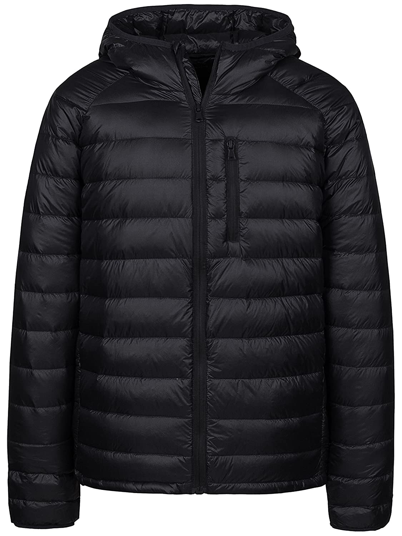 065fb1bfa Wantdo Men's Packable Insulated Light Weight Hooded Puffer Down Jacket