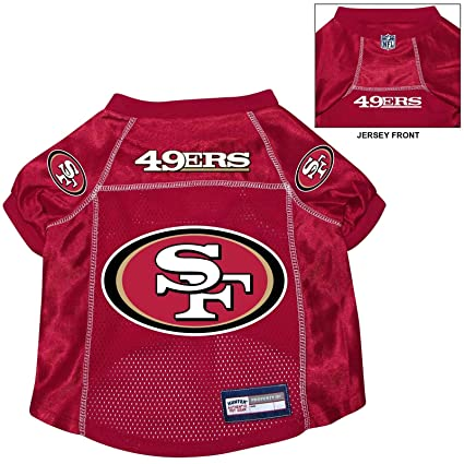 competitive price 8cf8b 984bc Amazon.com : San Francisco 49ers Pet Dog Football Jersey ...