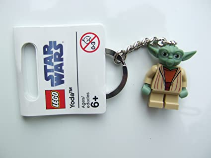 Amazon.com: LEGO 852550 Clone Wars Yoda Llavero: Toys & Games