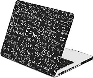 """TOP CASE - Physics Compatiblemulas Rubberized Hard Case Compatible Old Generation MacBook Pro 13"""" (13"""" Diagonally) with DVD Drive/CD-ROM Model A1278 - Black"""