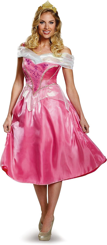 Disney Disguise Womens Princess Aurora Deluxe Costume