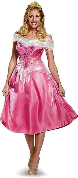 Amazon.com: Disney disfraz de princesa Aurora Deluxe para ...