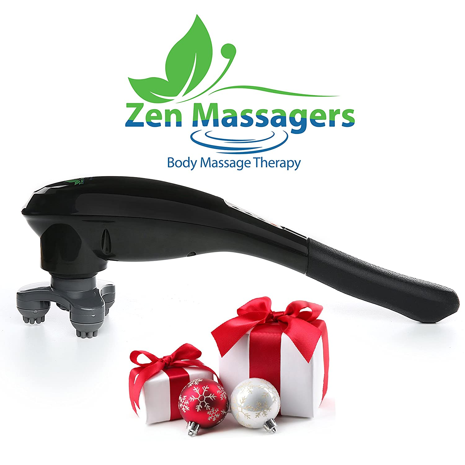 Zenmassager Z10 1 Handheld Percussion Massager Best Back Pain Imo Fortune Reliever Neck Shoulder Relief For Sore Muscles Powerful Electric Cordless