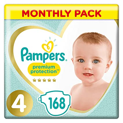 12-17 kg Monthly Saving Pack 136 Nappy Pants Gentlest Touch On Skin In Easy-On Nappy Pants Pampers Premium Protection Nappy Pants Size 5
