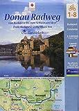 Donau-Radweg von Budapest bis zum Schwarzen Meer 1:100000
