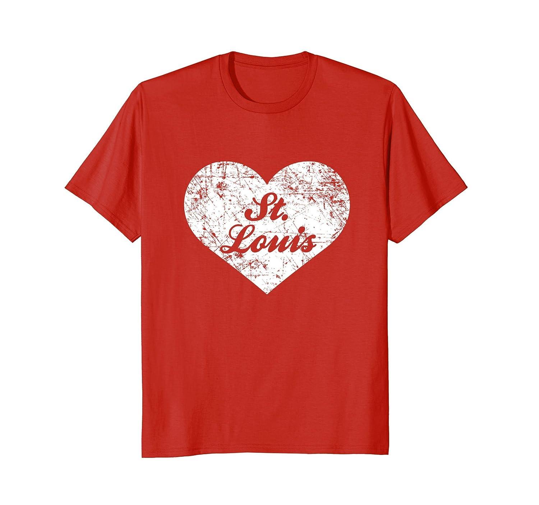 I Love St Louis Shirt, Funny Cute Missouri Gift Souvenir-TH