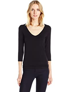 1d8ebf01661ed0 Amazon.com  Majestic Filatures Women s Soft Touch Elbow Scoop  Clothing