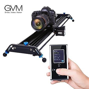 Amazon.com : Motorized Camera Slider Dolly Track GVM 31.8 inch ...