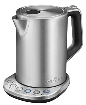 ProfiCook pc-wks 1108 Hervidor de agua de acero inoxidable, 1,5 L