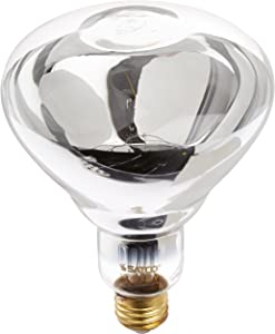 Satco Products S4750 125R40 1 Medium Base Clear Infrared Heat Lamp