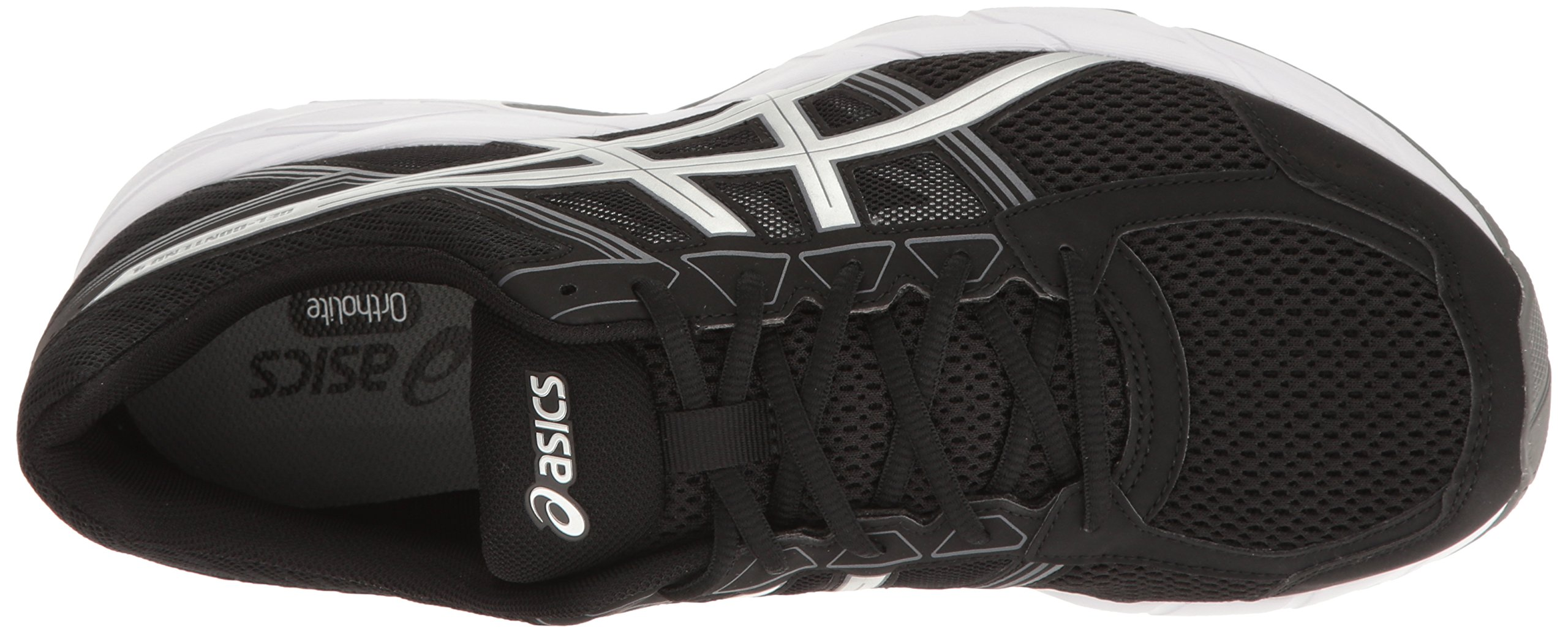 ASICS Men's Gel-Contend 4 Running Shoe, Black/Silver/Carbon, 7.5 M US by ASICS (Image #8)