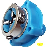 MGS Faucet Water Tap Adapter For Washing Machine Inlet Hose -Blue