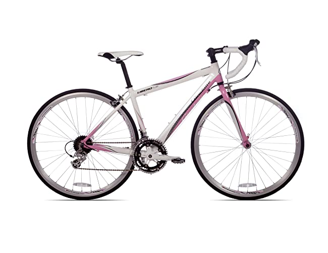 Giordano Libero 1.6 White/Pink Womens Road Bike