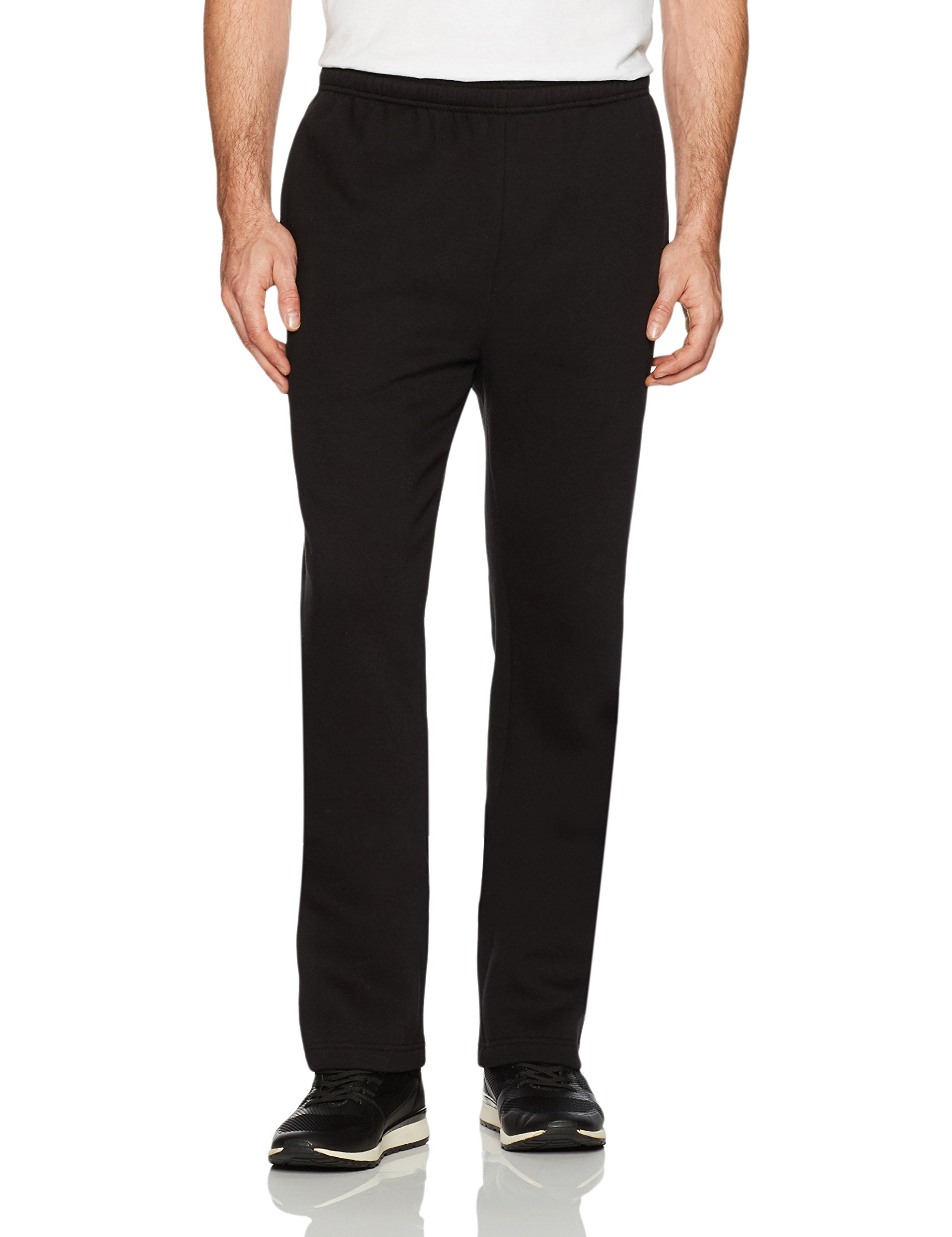Amazon Essentials Men's Fleece Sweatpant, Black, X-Large