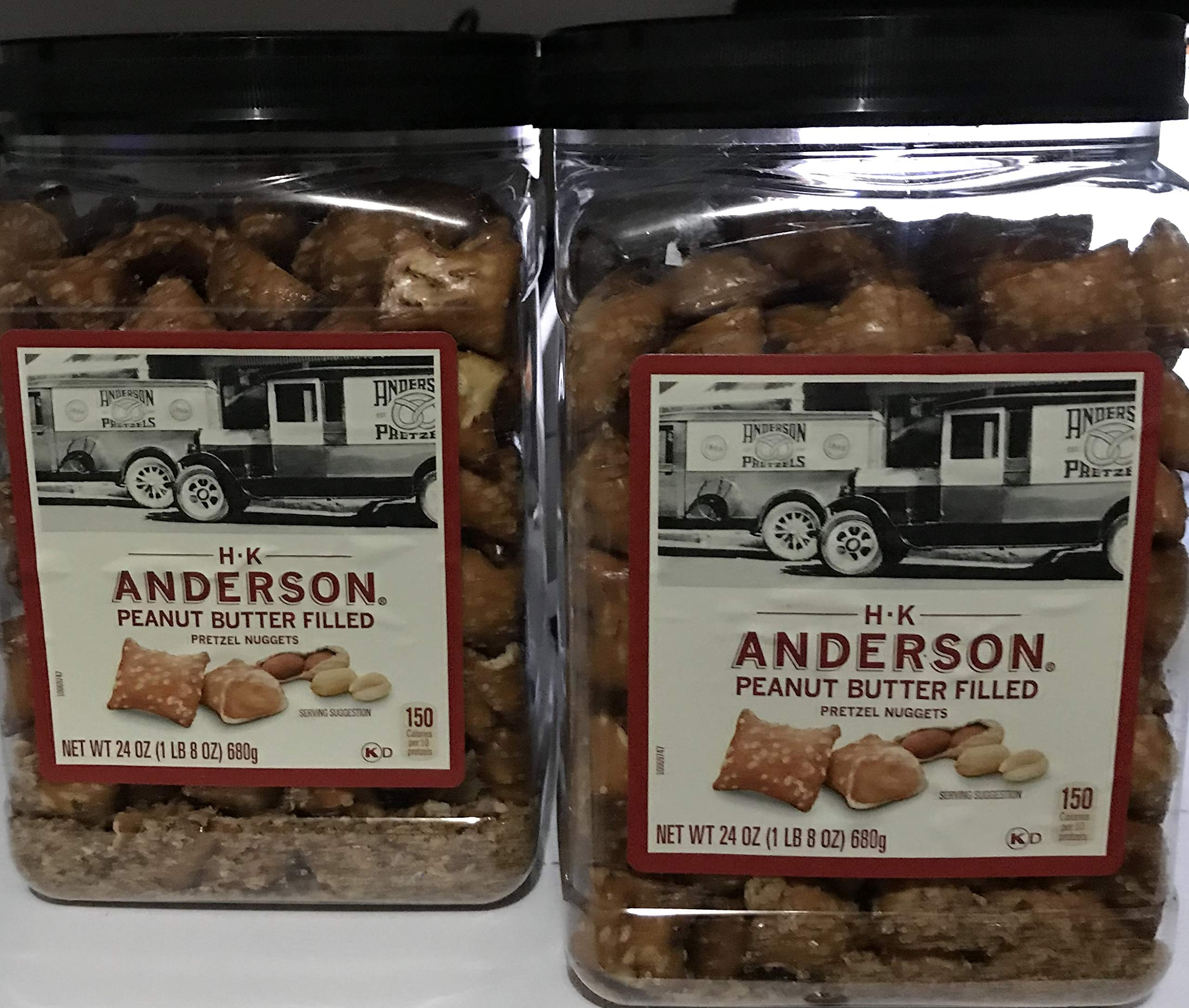 Anderson Bakery Peanut Butter Nuggets Pretzel, 24-oz. (2 Pack)