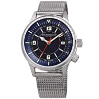 Deals on BRUNO MAGLI VITTORIO Quartz Blue Dial Men's Watch