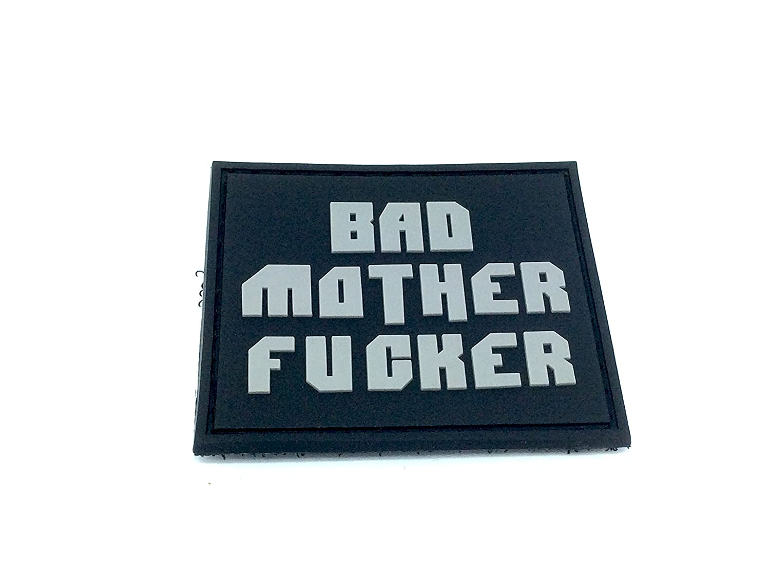 Bad Mother F***er Airsoft PVC Patch Morale Toppa Patch Nation