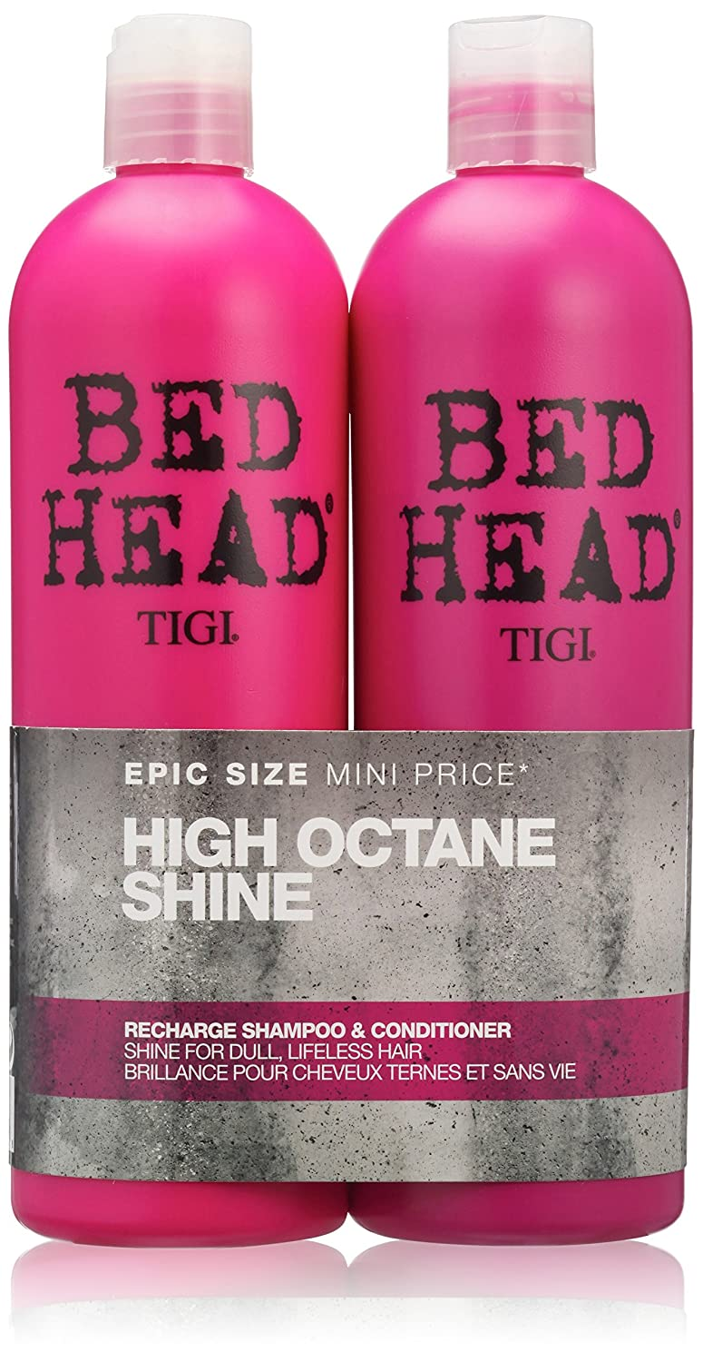 BED HEAD by TIGI High Octane Shine Recharge Shampoo and Conditioner - 750 ml (Pack of 2) 615908951028