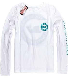 6e965119cd6e Amazon.com  Vineyard Vines Girls Graphic T Shirt Vintage Whale Blue ...