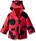 London Fog Girls Enhanced Radiance Ladybug Rain Slicker