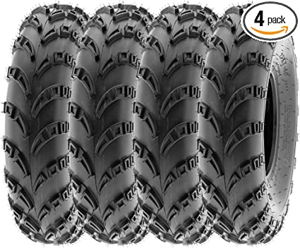 SunF 23x7-10 /& 23x10-10 ATV Tires All Terrain Tubeless 6 PR A028 Set of 4