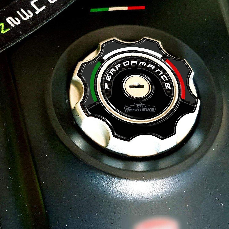 Adh/ésif 3D Protection Bouchon Du R/éservoir pour Ducati Hypermotard et Hyperstrada