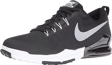 409970e03dc75 Nike Men s Zoom Train Action Training Shoe Black Metallic Silver Anthracite White  Size