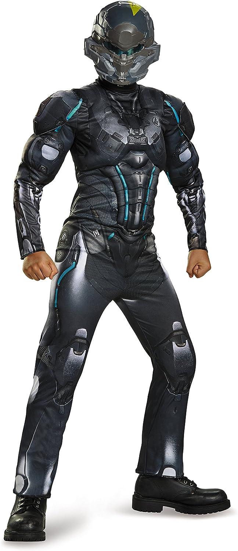 Boys Child Halo LOCHE Spartan Muscle Chest Costume