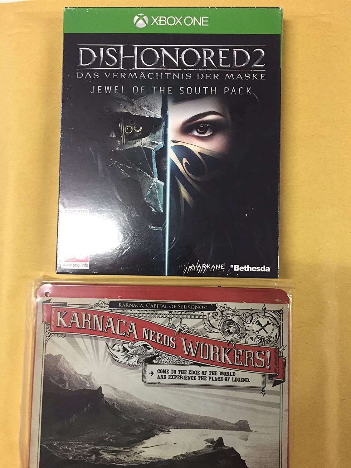 Dishonored 2 XB-One D1 AT MetalPlate Jewel of the South Pack ...