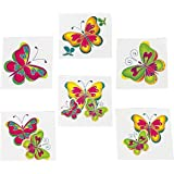 Kids Temporary Butterfly Tattoos - 72