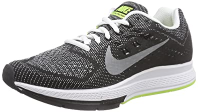 big sale 1d693 38bd4 Image Unavailable. Image not available for. Color  Nike Womens Zoom  Structure 18 Black White ...
