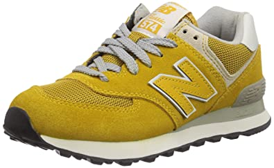 low priced 1c9f4 80e77 New Balance 574, Baskets Basses Adulte Mixte, Jaune (Yellow), 35.5 EU