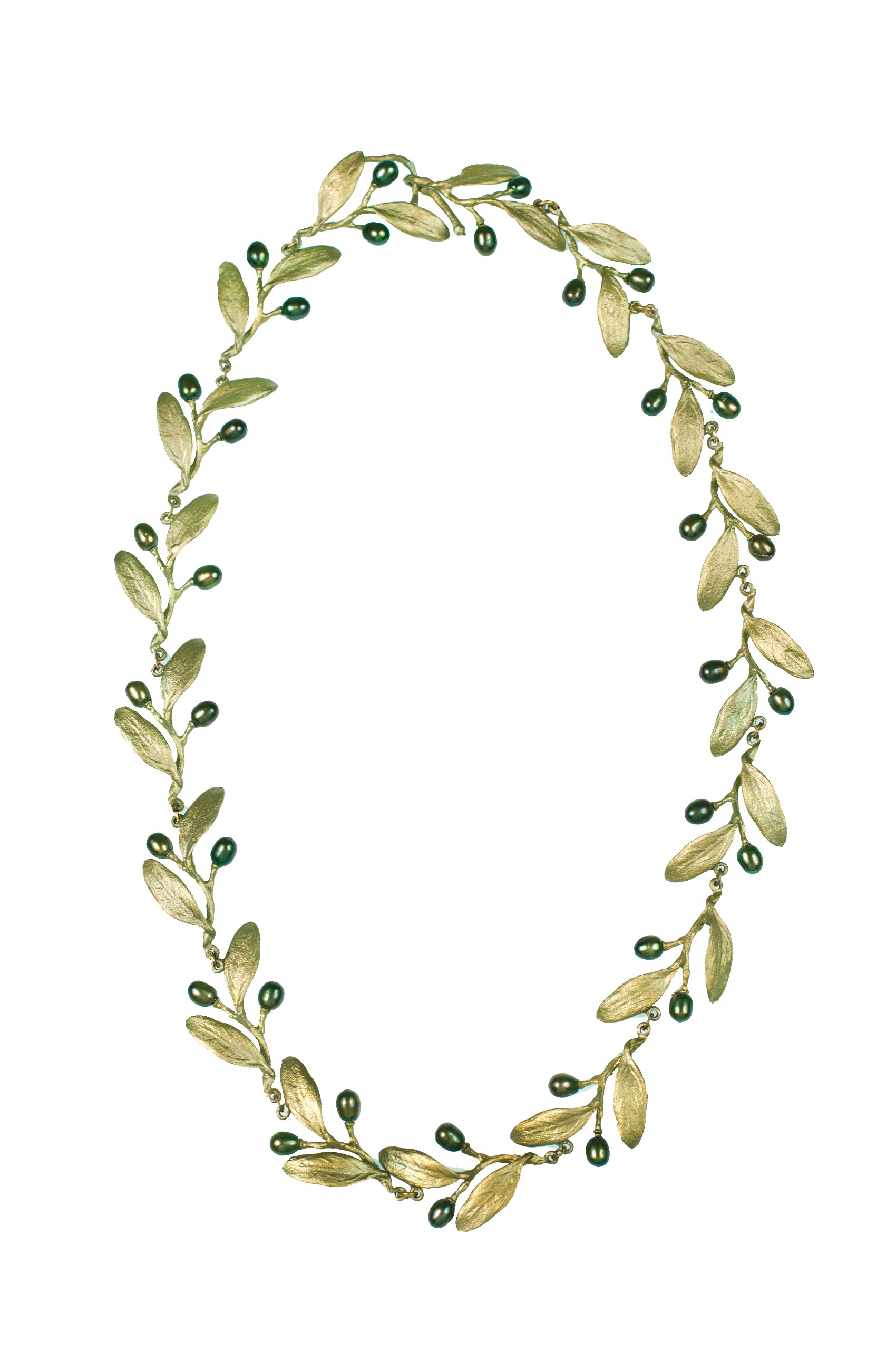 Michael Michaud Olive Necklace 8147