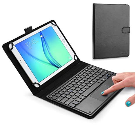 newest 3273d d4e9f Samsung Galaxy Tab S2 9.7 keyboard case, COOPER TOUCHPAD EXECUTIVE 2-in-1  Wireless Bluetooth Keyboard Mouse Leather Travel Cases Cover Holder Folio  ...