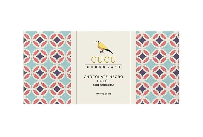 chocolate CUCU CHOCOLATE Negro dulce 54%