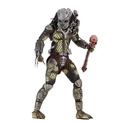 "NECA Predator - 7"" Scale Action Figure - 30th Anniversary Jungle Hunter Masked: Toys & Games [5Bkhe0403370]"
