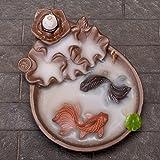OTOFY Backflow Fountain Waterfall Ceramic Incense